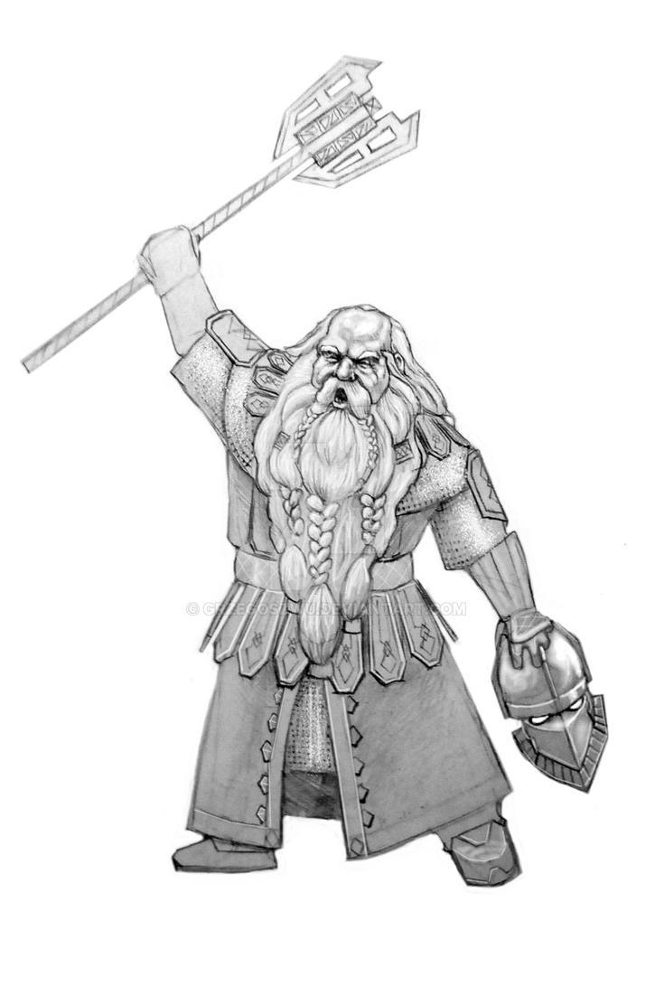 Azaghal of Belegost by grzegoszwu