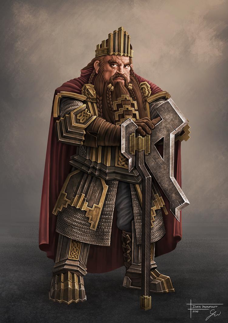 The Hobbit Dain Ironfoot