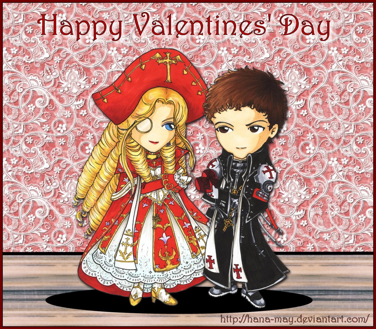 Trinity Blood - Happy Valentine's Day by Hana-May