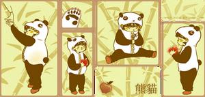 Little Panda Girl