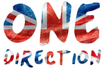 Texto PNG One Direction (Bordes Blancos)