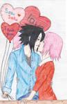 Sasusaku valentines day