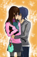 .:.:. A surprise kiss .:.:. by NaruHina1526