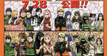 Character differences: Naruto Road to Ninja