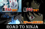Images of the trailer Naruto road to ninja