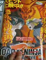 Naruto VS Menma by NaruHina1526