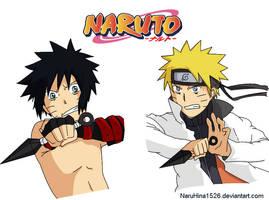 .:. Menma and Naruto .:. by NaruHina1526