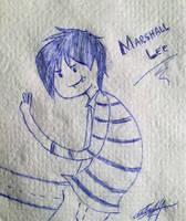 Marshall in napkin by NaruHina1526