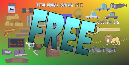 Total Drama Random Pack - Free by MigueLLima1999