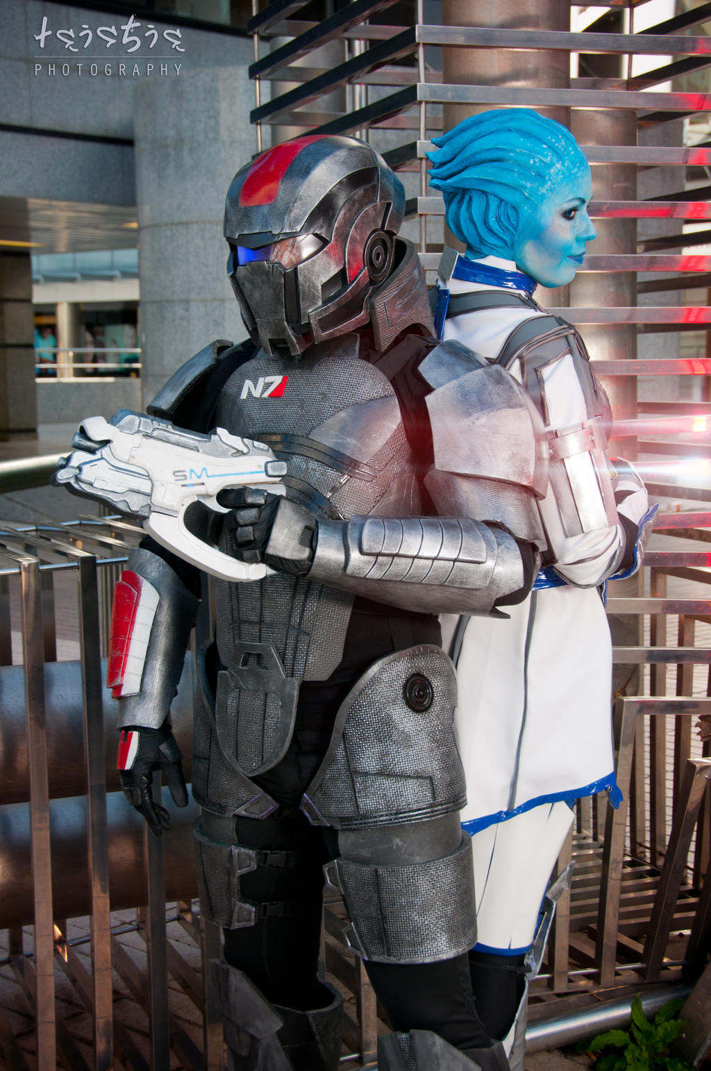 Mass Effect - Side by side by sumyuna