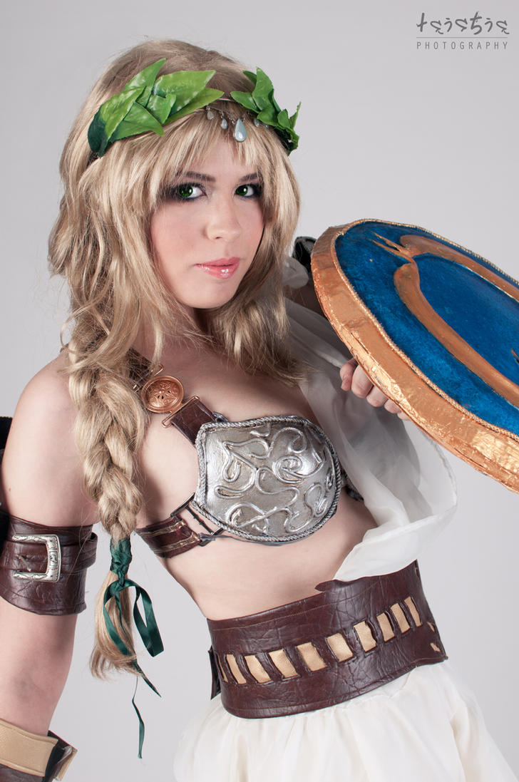 Sophitia - The Gods guide me by sumyuna