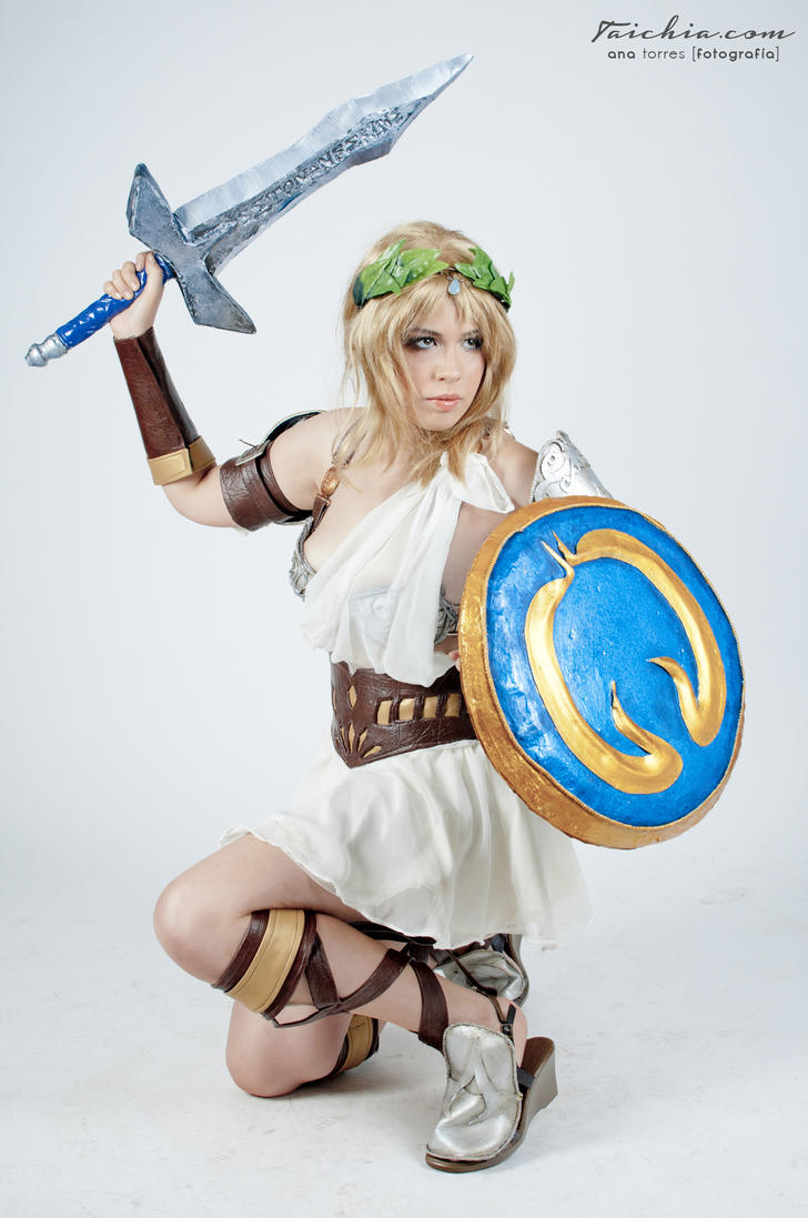 Sophitia - I will not hold back by sumyuna