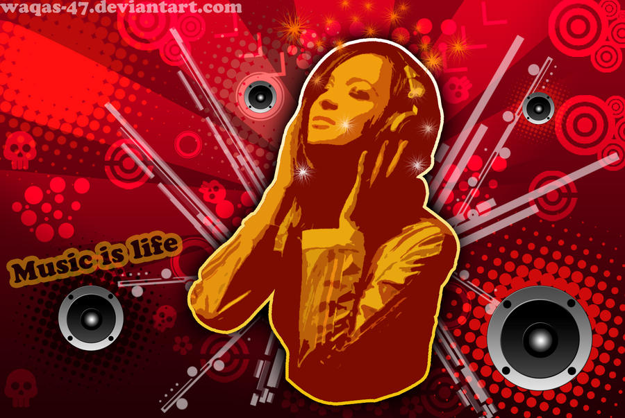 Download this Urban Music Art Waqasmoosa picture