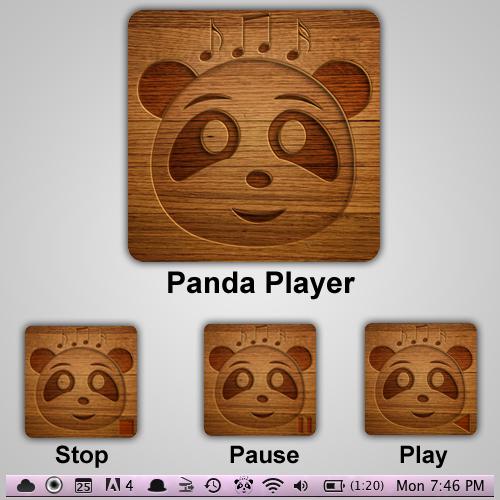 Panda icons for mac os by waqasmoosa