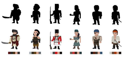 Gamecharacterspritesheet