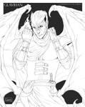 Sketch Commission for H-brid - GLAVIHAN