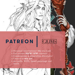 PATREON IS UP! by giums