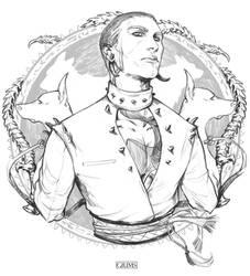 INKTOBER #6 - LOYAL BUTCHER