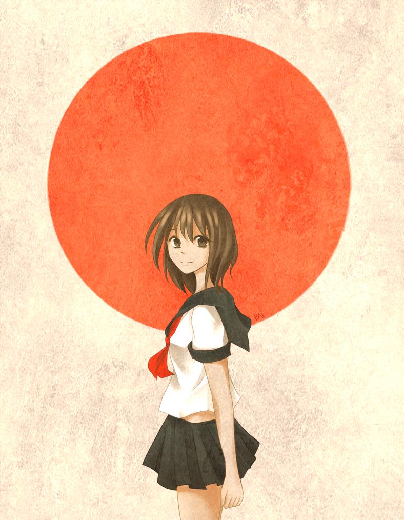 Pray for Japan by Haiyun