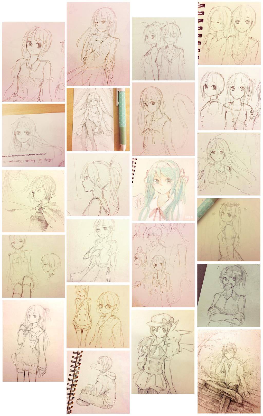 sketchdump by Haiyun