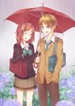 Isshuukan Friends: Friends in the Rain