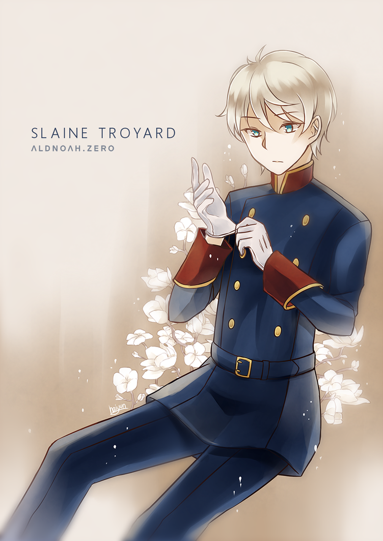 Aldnoah Zero: slaine by Haiyun