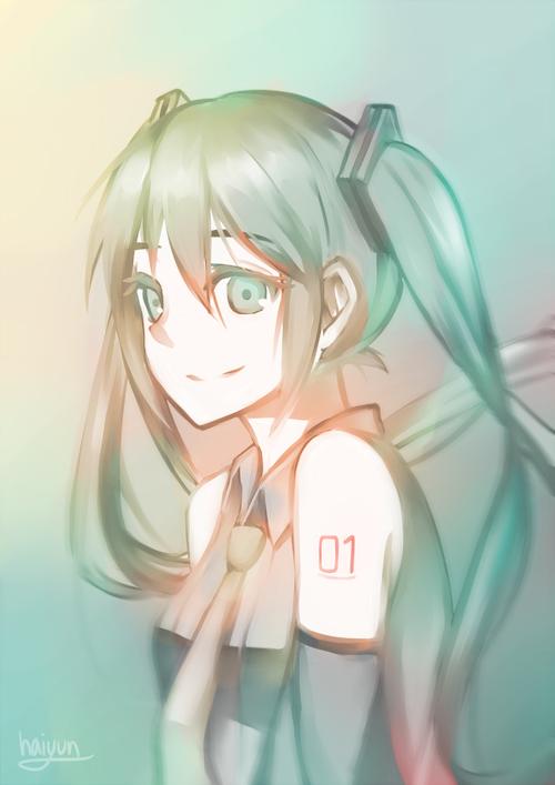 Vocaloid: miku by Haiyun