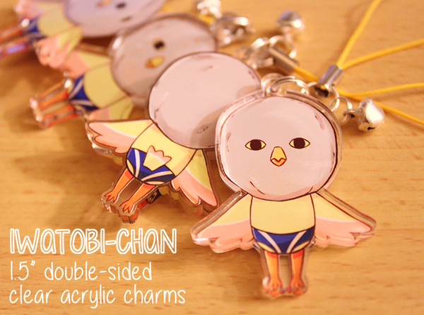 Charms: Iwatobi-chan by Haiyun