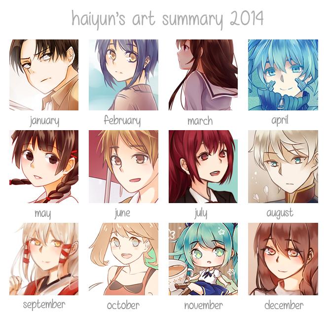 Art Summary 2014 by Haiyun