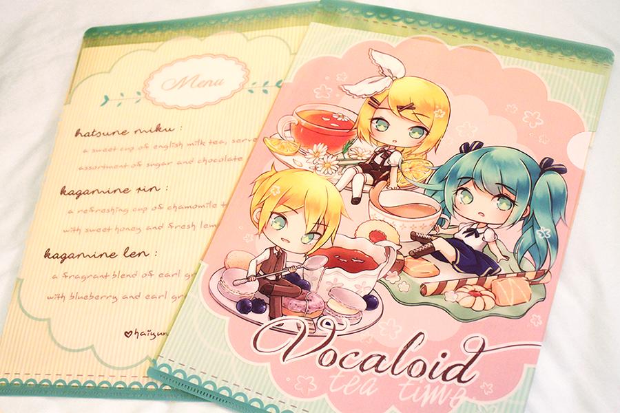 Clear Files: Vocaloid Tea Time by Haiyun