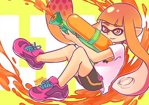 Splatoon: splatsplat