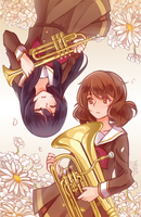 Hibike! Euphonium: You and I by Haiyun