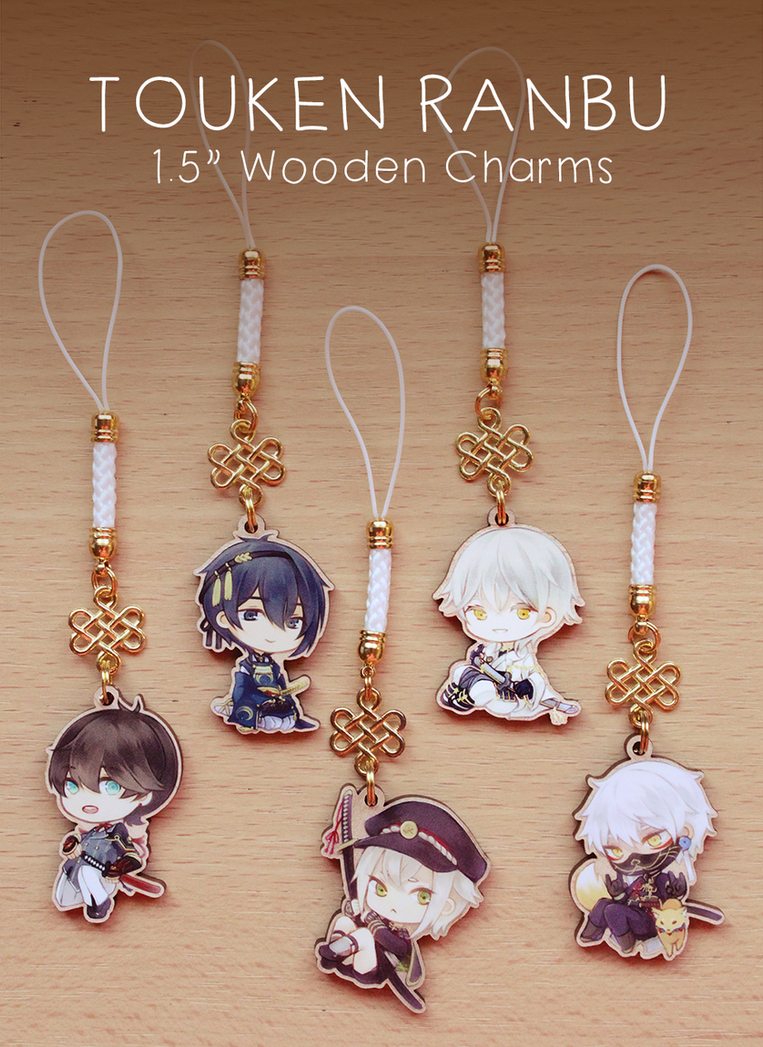 Charms: Touken Ranbu by Haiyun