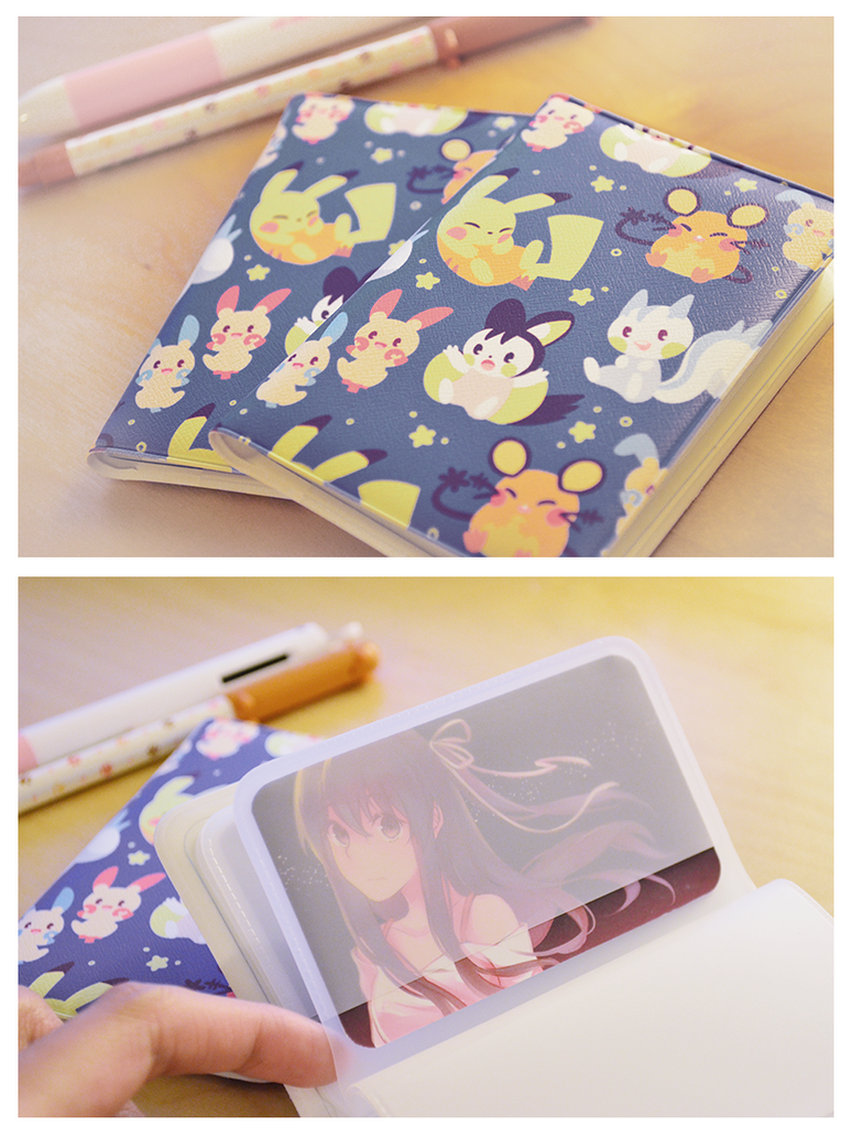 Card Wallets: Pokemon Electric Rodents by Haiyun
