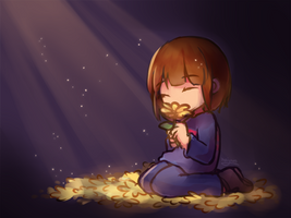Undertale: It fills you with determination. by Haiyun