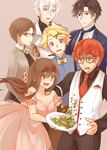 Mystic Messenger: LET'S EAT!