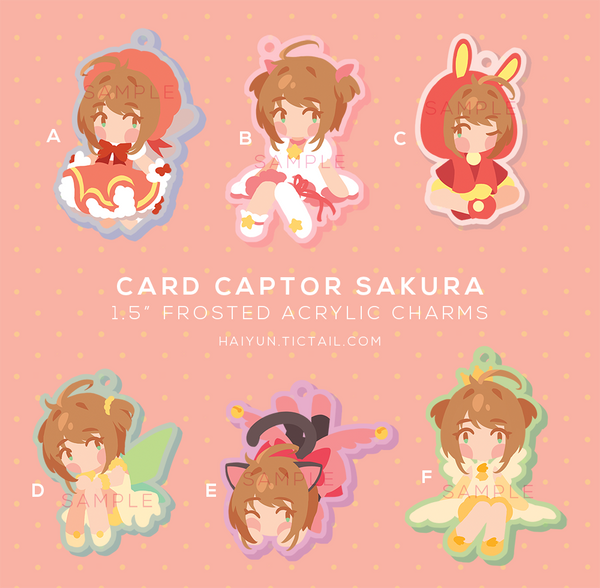 Charms: Card Captor Sakura by Haiyun