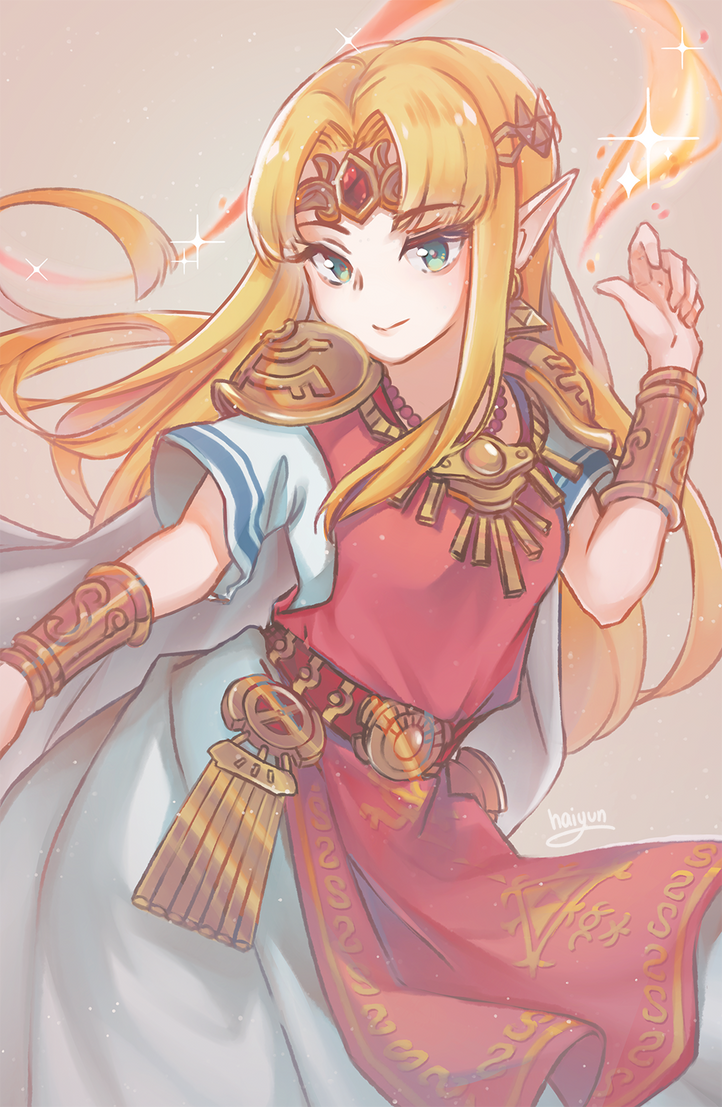 Smash Ultimate: Zelda by Haiyun