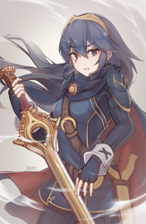 Smash Ultimate: Lucina by Haiyun