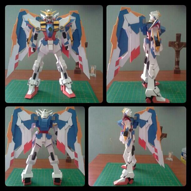 Wing Gundam Ka Ver. Papercraft by DannyNvrr