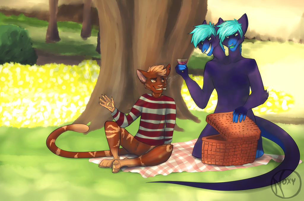 The picnic by N-o-x-y