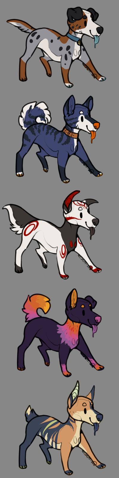 ADOPT Fast Doggos by N-o-x-y