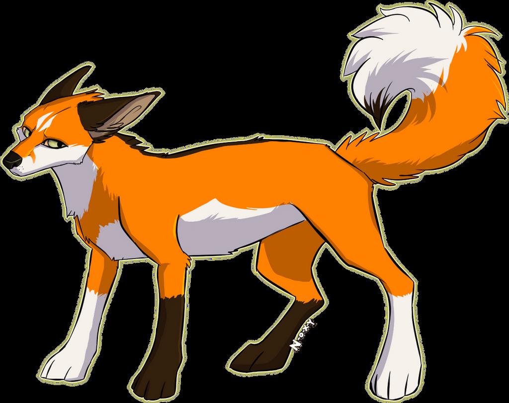 A fox by N-o-x-y