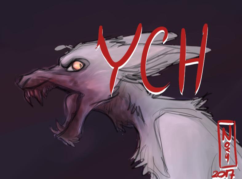 CLOSED Gore canine YCH by N-o-x-y