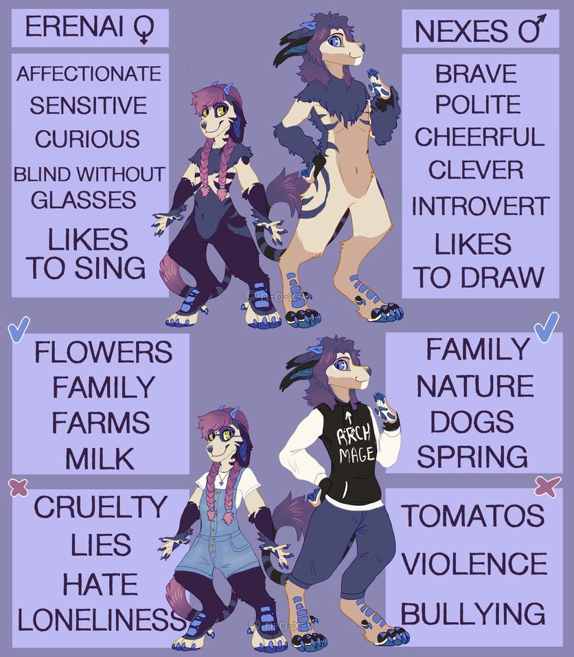 Vernid Siblings Reference by N-o-x-y