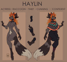 HAYLIN reference sheet