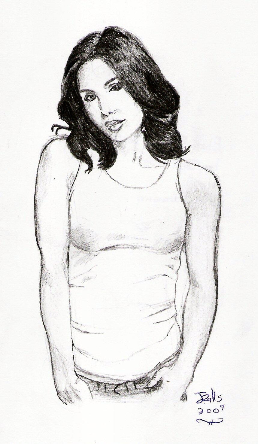 Eliza Patricia Dushku by jmralls2001