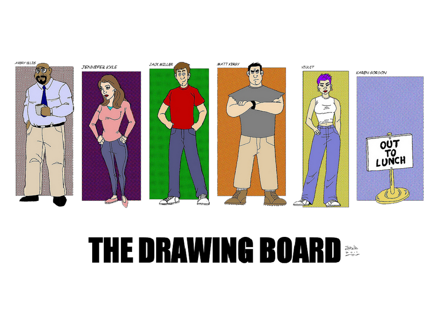 The Drawing Board Cast by jmralls2001