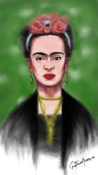 Frida Khalo by nohandsnolegs