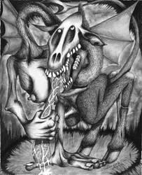 [1996] Gargoyle 2 by nohandsnolegs